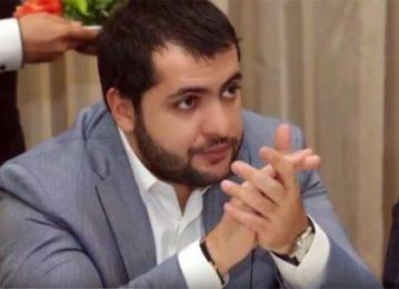 Թմրանյութ և զենքեր. Սաշիկ Սարգսյանի որդին հետախուզվում է (տեսանյութ)