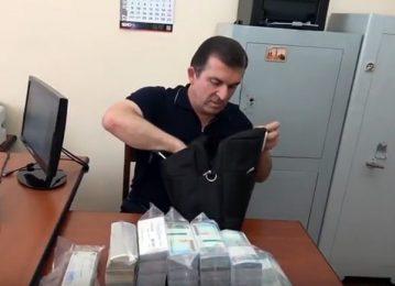 Բերման ենթարկվելիս Վաչագան Ղազարյանի ձեռքի պայուսակում եղել է 120.000 դոլար (տեսանյութ)